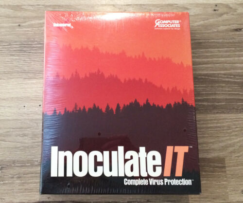 Inoculate IT - Complete Virus Protection (Computer Associates) New & Sealed