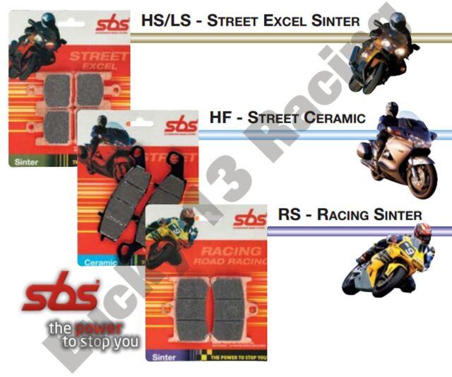 SBS HS Sinter road front brake pads to fit Yamaha SZR 660 95 96 97 98