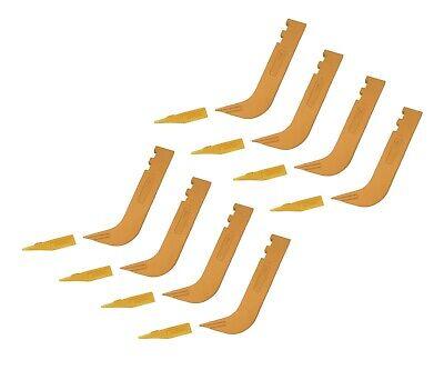 8 - Set Of 8110 Scarifier Shanks With 6y5230 Scarifier Teeth