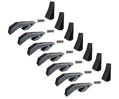 7 Toothbar Shanks Teeth Pins For Loader Buckets 230 230sp D51750 Tf23d