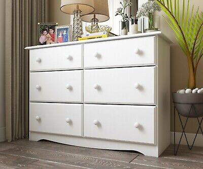 100% Solid Wood Double Dresser by Palace Imports