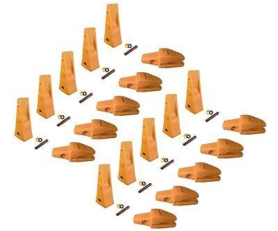 10 Cat Style Excav. Weld-on Shanks Dirt Teeth Pins- 119-32536y-3254 1u-3252