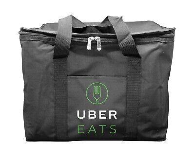 Uber Eats Food Delivery Bag 12x13x17 Hot Food Carrier