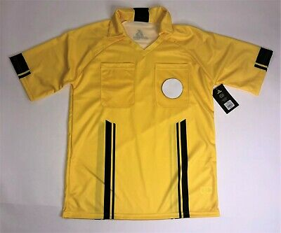 ac74c28da BRAVA Soccer Men Bright Yellow Referee Jersey NEW w Tags Size XL Extra Large