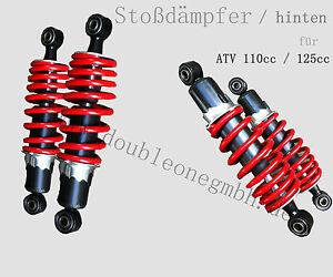 ATV / Quad Stoßdämpfer / Federbein 110ccm - 125ccm / shock 275mm