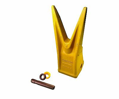 1 - Caterpillar Style J450 Excavator Twin Tiger Bucket Tooth W Pin - 1u3452wtl