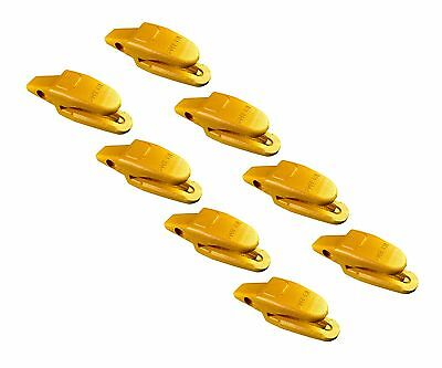 8- Cat Style Backhoe Mini Excavator Bucket Shanks - 119-3205 34 Lip Thicknes