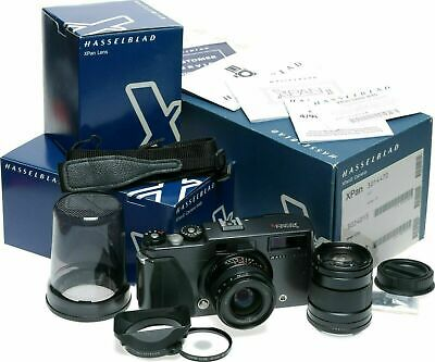 Hasselblad X Pan II panoramic 35mm film rangefinder camera f4 45mm lens f90mm