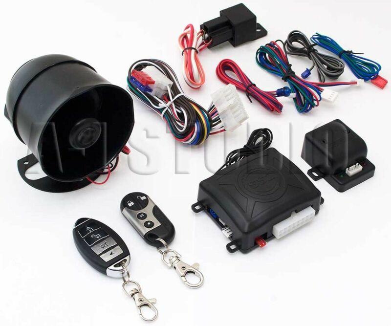 OMEGA K9-MUNDIAL-SSX CAR 1WAY SECURITY KEYLESS ENTRY ALARM SYSTEM W/SHOCK SENSOR
