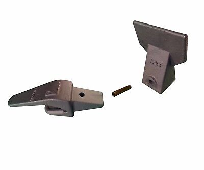 Hensley Style Weld On Bucket Shank W Flare Tooth Pin- 550x156 X156f P156