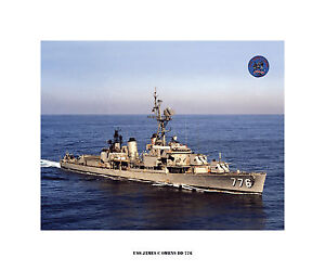 USS-JAMES-C-OWENS-DD-776-US-Naval-Destroyer-USN-Navy-Ship-Print