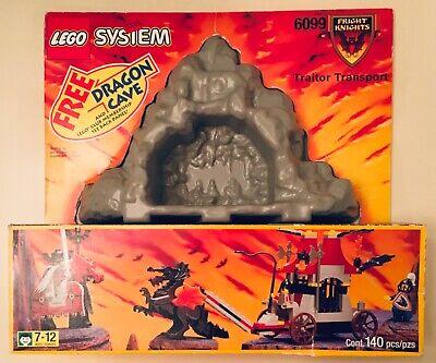 LEGO Set #6099 Castle: Fright Knights: Traitor Transport W/Dragon Cave & Box