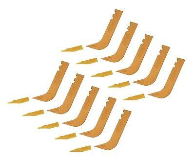 10 - Set Of 8110 Scarifier Shanks With 6y5230 Scarifier Teeth
