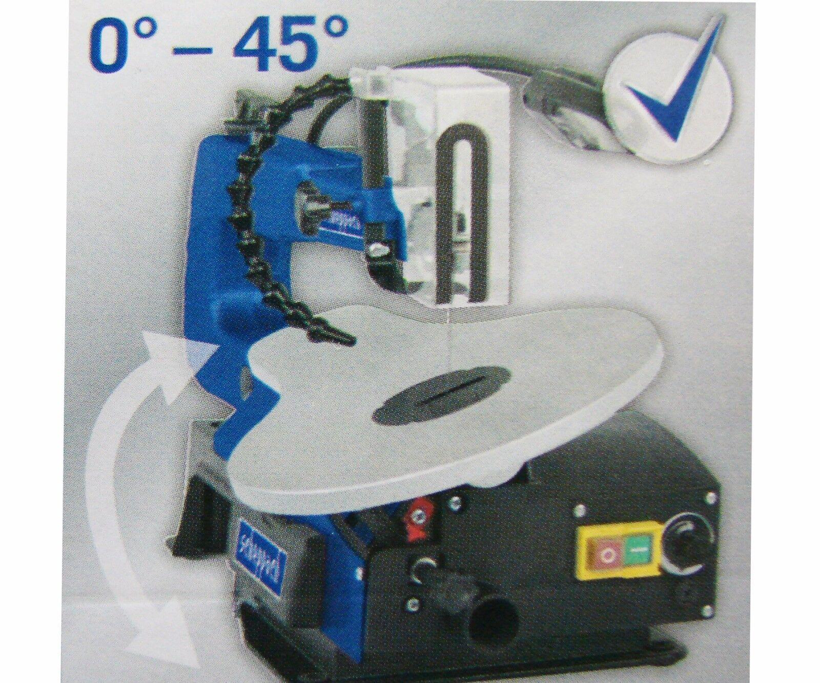 Scheppach Dekupiersäge Säge 120W Kreissäge LED Stichsäge Laubsäge SD1600V ohne
