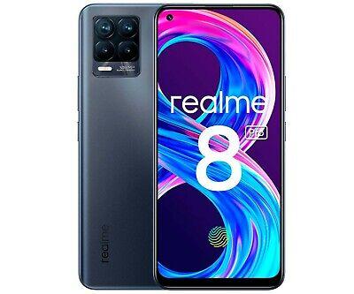 REALME 8 PRO 4G 128GB+8GB RAM 6,4'' 108/16MP SMARTPHONE TELÉFONO LIBRE NEGRO 4G
