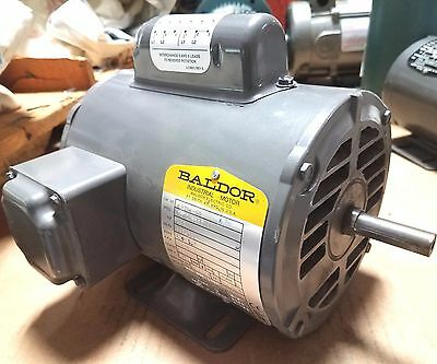 New Baldor 13 Hp Single Phase Motor L1206-50