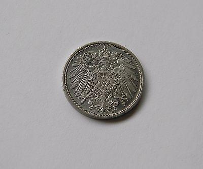 KAISERREICH: 5 Pfennig 1897 A, J. 12, stempelglanz !!!