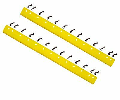 2 - 5d9553 T66703 - Common 6ft Heat Treated Curved Grader Blades - 58x6x72