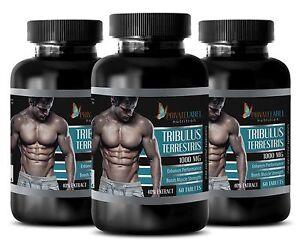 Bulgarian Tribulus Terrestris 1000mg Testosterone Booster 180 Tablets 3 Bottles