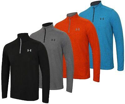 Under Armour Mens ColdGear Infrared Lightweight Long Sleeve 1/4 Zip Training Top