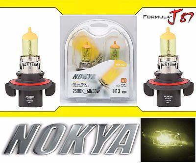 Nokya 2500K Yellow 9008 H13 Nok7627 60/55W Two Bulbs Head Light Snowmobile
