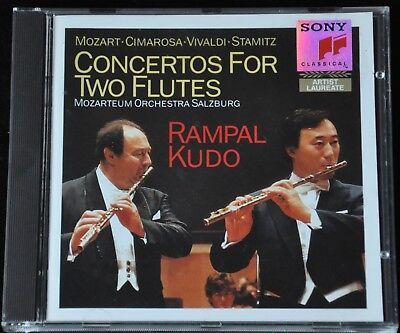 Jean-Pierre Rampal & Shigenori Kudo play Conertos for two Flute Sony 45 930 CD