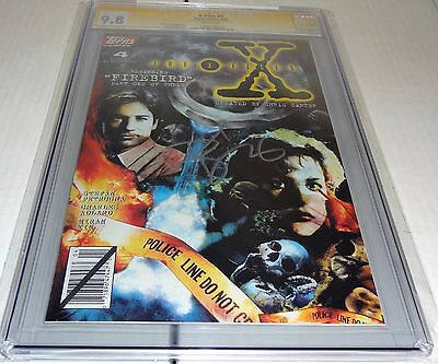 X-Files #4 CGC SS 9.8 Signature Autograph DAVID DUCHOVNY Signed Topps Comics 🔥