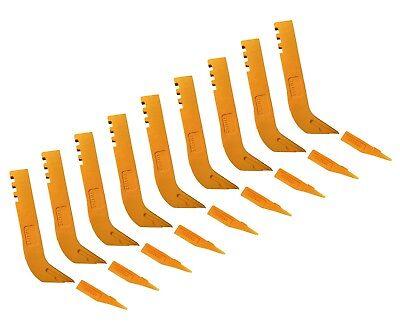 9 Scarifier Shanks Tips Fits Many John Deere Motor Graders- T114792 T6y5230