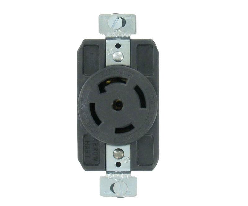 NEMA L21-30 30A 120/208V 3ØY Grounding Locking Receptacle/Outlet Arrow Hart NEW