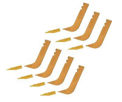 7 - Set Of 8110 Scarifier Shanks With 6y5230 Scarifier Teeth