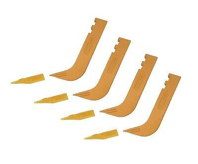4 - Set Of 8110 Scarifier Shanks With 6y5230 Scarifier Teeth