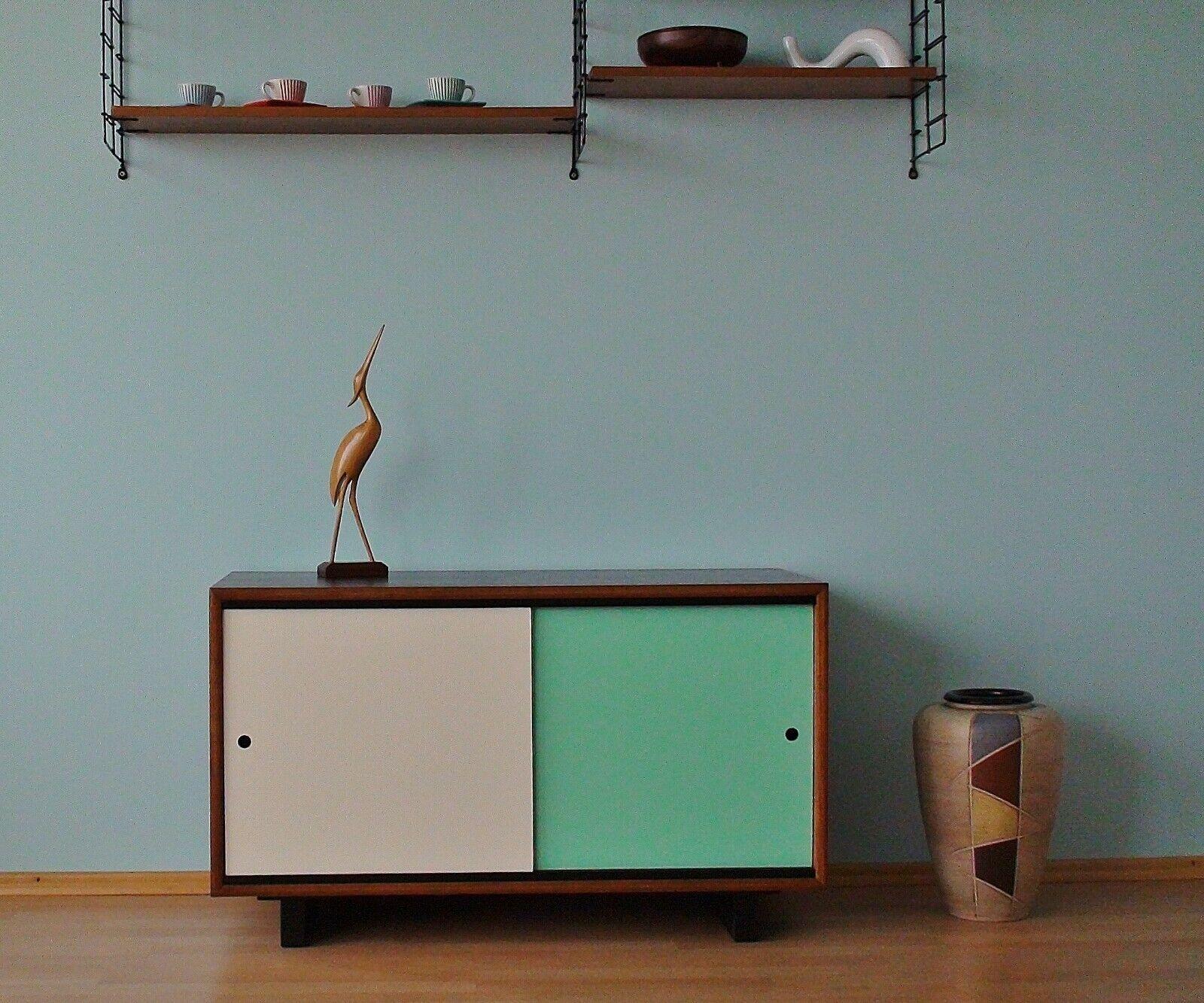 Sideboard 60er70er Jahre TeakResopal Vintage