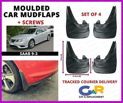 Front//Rear Rubber Moulded MUDFLAPS 4x Mud Flaps Universal Fit For HYUNDAY KIA