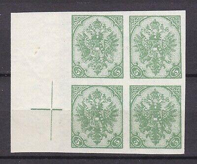 Bosnia Herzeg - 1900 - Michel 13 U  - Belgien printing - MNH/MH