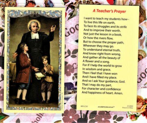 St. John Baptist de La Salle + a Teacher