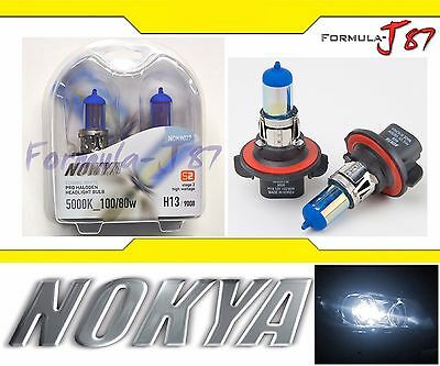 Nokya 5000K White 9008 H13 Nok8027 100/80W Two Bulbs Head Light Snowmobile