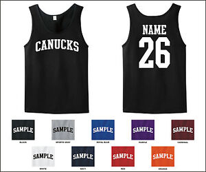 Canucks-Custom-Personalized-Name-Number-Tank-Top-Jersey-T-shirt