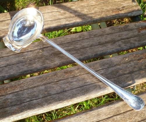 Swedish 14 Inch Large Punch/Soup Serving Ladle CG Hallberg Vintage Sweden