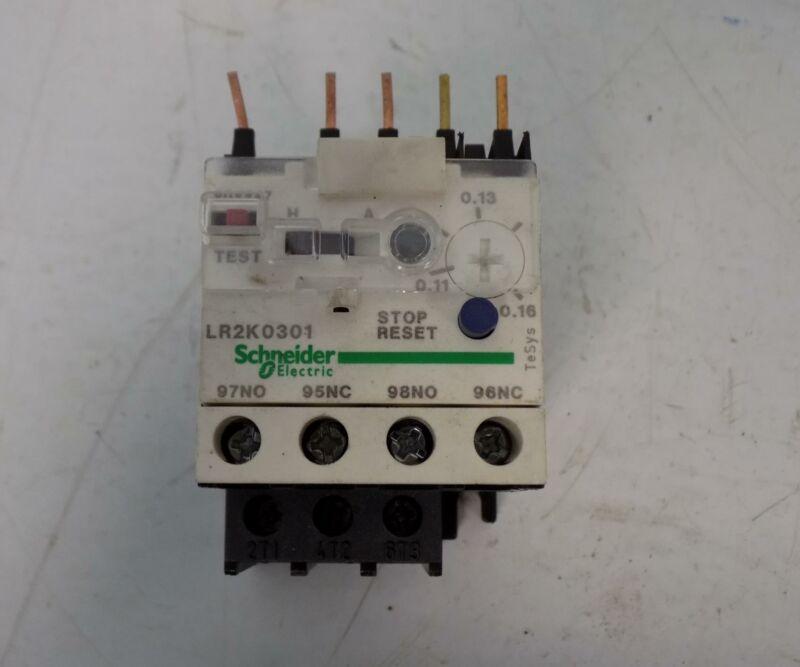 SCHNEIDER ELECTRIC OVERLOAD RELAY  LR2K0301