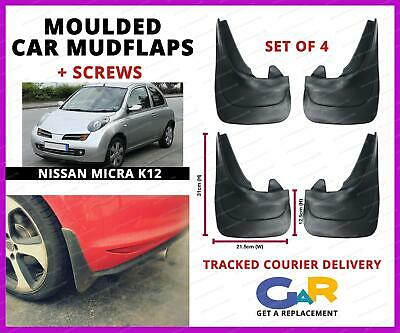 Red RALLY Mud Flaps Splash Guards fits FIAT SCUDO