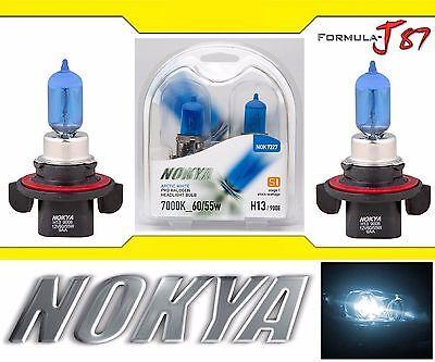Nokya 7000K White 9008 H13 Nok7227 60/55W Two Bulbs Head Light Snowmobile