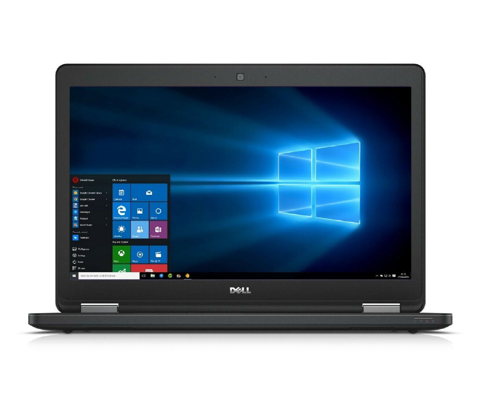 Laptop Windows - Dell Latitude Business Gaming Laptop 15.6 inch HD Intel Core i5 16GB RAM 2TB SSD