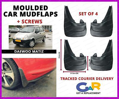 Top Quality Universal Daewoo Kalos Car Rubber Moulded MUDFLAPS Full set