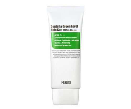 *PURITO* Centella Green Level Safe Sun SPF50+ PA++++ 60ml - Korea Cosmetic