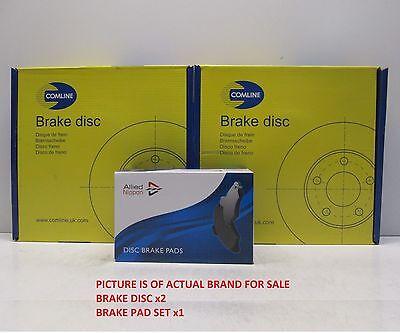 VAUXHALL VIVARO ALL MODELS 2001 2013 2 FRONT BRAKE DISCS AND PADS SET 306MM