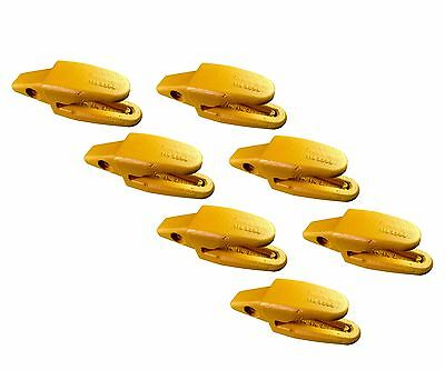 7 - Cat Style Backhoe Mini Excavator Bucket Shanks - 119-3204 1 Lip Thicknes