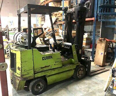 Clark Forklift Gcs 25mc Type Lp