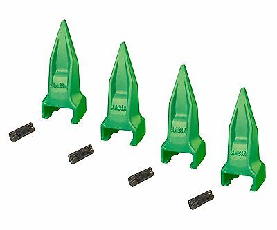 4 - Esco Style Super V Mini Excavator Tiger Rock Teeth Shanks- V13vy V13-17pn