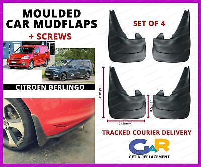 Dispatch Mudflaps to fit Citroen Nemo Berlingo Relay Mud Flaps Plain