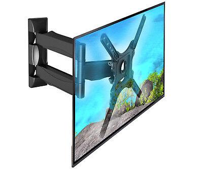 TV Fernseher Wandhalterung 32-55 Zoll Neigbar Schwenkbar bis VESA 400 - P4